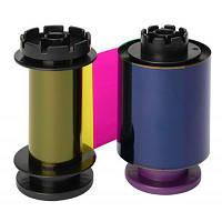 Риббон Evolis к принтеру Avansia, цветной, YMCFK RT, 400 отпечатков (RT5F014NAA)