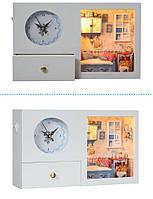 Домик для куклы + часы KH 128-07 сделай сам