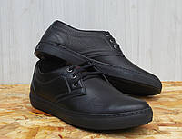 Туфли мужские Detta 685 модель с натуральной кожи стильные