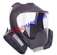 Полнолицевая маска с химическими фильтрами марка А (аналог 3M 6800)