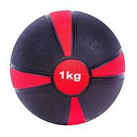 Мяч медицинский (медбол) 1кг D=19см. SC-87273-1 s