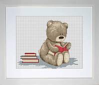 """Набор для вышивки нитками """"Медвежонок Бруно"""""""