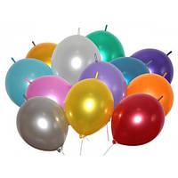 """Линколун для моделирования воздушные шары металлик ассорти 13"""" 33 см"""