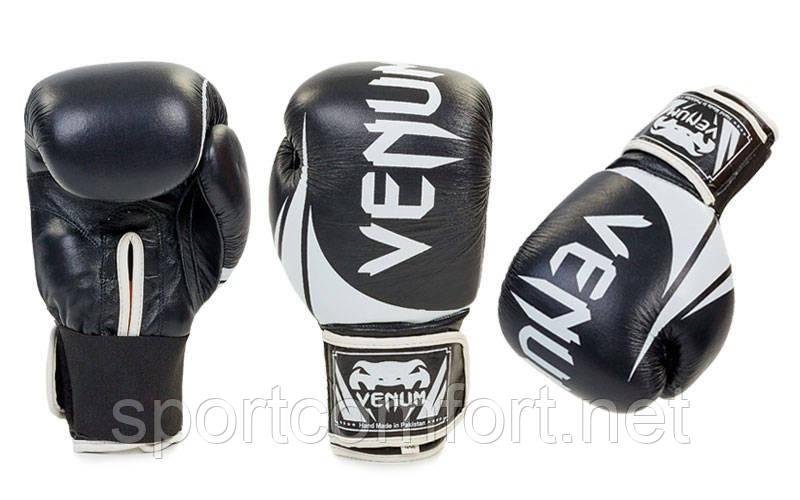 Перчатки для бокса Venum Challenger (натуральная кожа) 10 oz  реплика