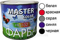 """Краска НЦ-132 белая «Master color» 1л ( 0,8 кг) НПК """"Запорожавтобытхим"""""""