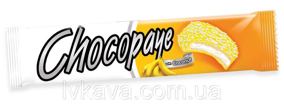 Печенье-сендвич с банановым маршмеллоу и кокосом CHOCO PAYE  Simsek, 57 гр, фото 2