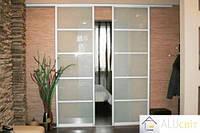 Міжкімнатні розсувні (перегородки) двері купе