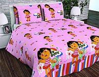 Детское постельное бельё в кроватку Даша - путешественница, фото 1