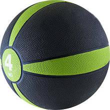 Медбол на 4 кг м'яч медичний 22 см діаметр