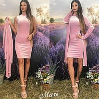 Костюм М413/011 платье и накидка