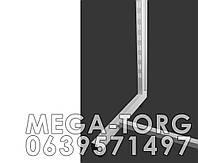 "Рейка-опора h2.2 пристенная системы ""Stender""  (белая.черная.металлик )"
