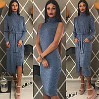 Комплект платье с кардиганом 62- 415