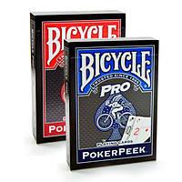 Карты игральные Bicycle Poker Peek Pro