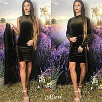 Комплект платье с кардиганом 62- 413