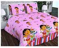 Полуторное постельное бельё Детское Даша Путешественница