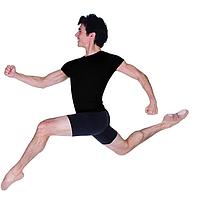 Купальник короткий рукав  для мальчиков  гимнастика балет Danskin США
