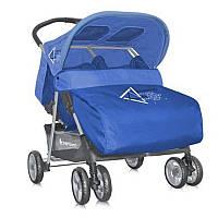 Коляска прогулочная для двойни Bertoni Twin (blue)