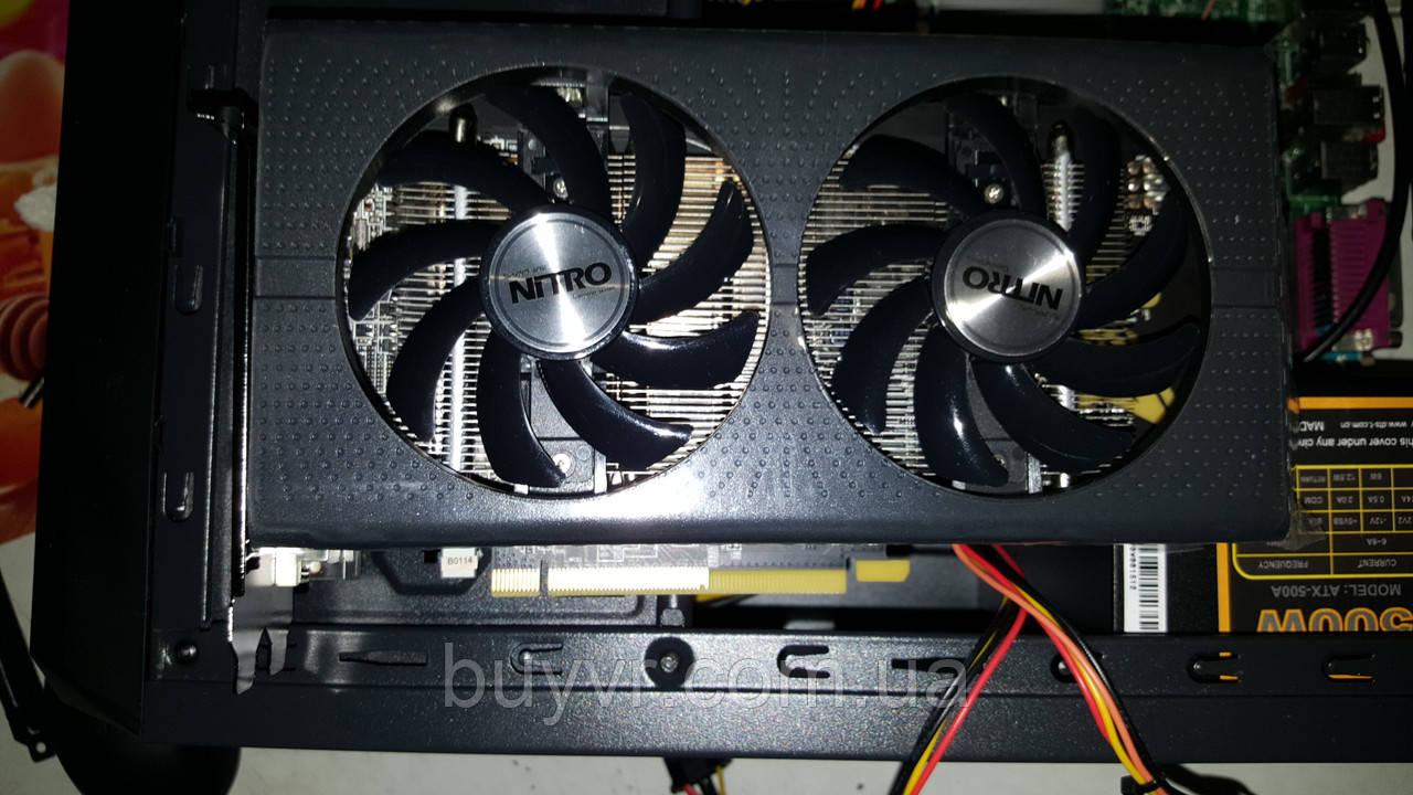 Intel I7 (XEON 8 потоков  по 3,2GHZ) 8gb RX560 4gb 500Gb Игровой системник