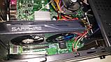Intel I7 (XEON 8 потоков  по 3,2GHZ) 8gb RX560 4gb 500Gb Игровой системник, фото 6