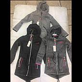 Подростковая удлиненная  кофта с начосом  для девочек оптом  FD