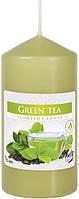 Ароматическая свеча зеленый чай 60х120мм