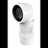 Угловая гофра для подключения унитаза McAlpine WC-CON9F, фото 1