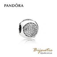 Pandora Шарм СИЯЮЩИЕ КАПЛИ #796214CZ серебро 925 Пандора оригинал
