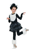 Черная кошка карнавальный костюм для девочки