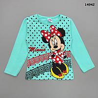 Кофта Minnie Mouse для девочки. 5-6 лет