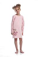 Сорочка для девочки GND 013/001 (ELLEN) НОВИНКА осень-зима 2018