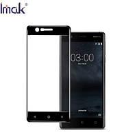 Защитное стекло Imak для Nokia 3, черное
