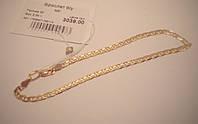 Браслет золотой, размер 20, вес 3.34 грамм. Б/У.