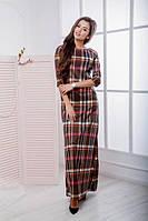Женское длинное платье ОП1056