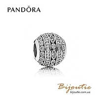 Pandora шарм СВЕРКАЮЩИЙ ШАР #796243CZ серебро 925 Пандора оригинал