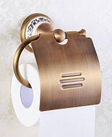 Бронзовый держатель туалетной бумаги Deco Бронза