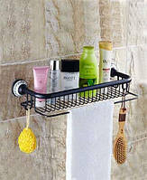 Art Design Полка для ванны Deco Black Черная