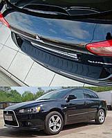 Накладка заднего бампера Mitsubishi Lancer Sportback X 2008>
