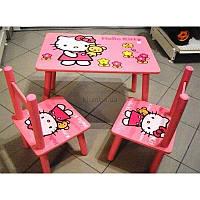 Столик и 2 стульчика Hello Kitty, 6 видов, Украина