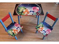 Столик и 2 стульчика Фиксики, 6 видов, Украина