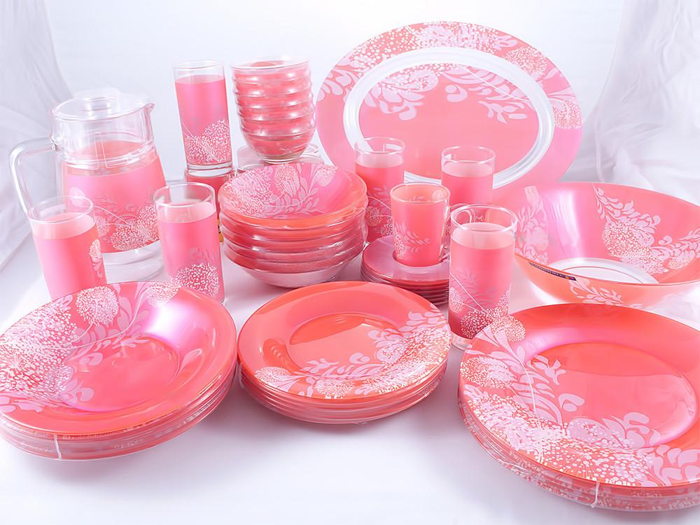 Piume Pink Сервиз столовый 46 пр. Luminarc N6729