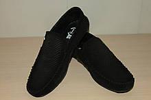 Туфлі чоловічі 39,40 р чорні замшеві.