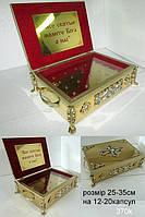 Купить ковчег латунный на 12-20 капсул (частиц)