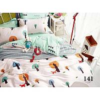 Постельное белье Viluta в кроватку на резинке ,  Сатин хлопок 100% арт. 141, фото 1