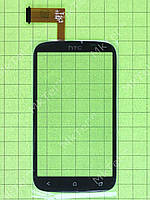 Сенсор HTC Desire X T328e Копия АА Черный