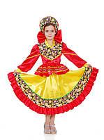 Кадриль плясовая национальный костюм для девочки