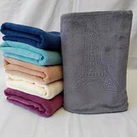 Красивые  полотенца для лица из микрофибры  . Размер: 1,0 x 0,5