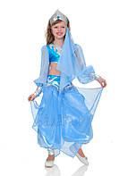Восточный национальный костюм для девочки голубой