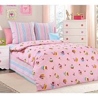 Комплект детского постельного белья подростковый Сластена