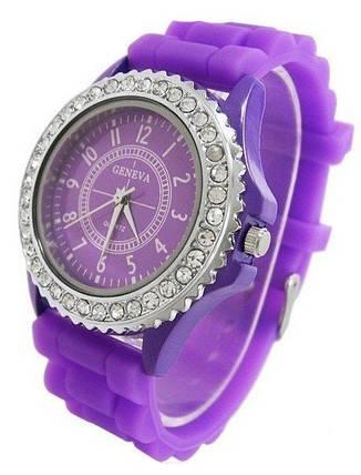Часы женские GENEVA Luxury Женева Сиреневые, фото 2