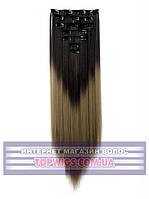 Трессы - волосы на заколках Helen (Термоволосы): цвет 1BT18B